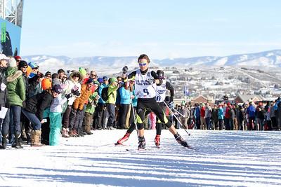 Michael Ward 2014 Olympic Team Trials for Nordic Combined at Utah Olympic Park, Park City Cross Country Photo: Sarah Brunson/U.S. Ski Team