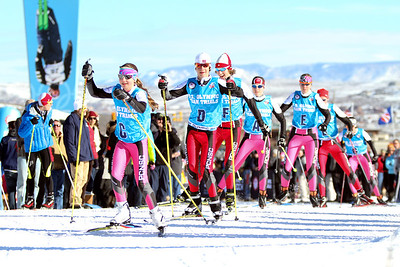 2014 Olympic Team Trials for Nordic Combined at Utah Olympic Park, Park City Cross Country Photo: Sarah Brunson/U.S. Ski Team
