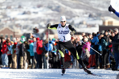 Todd Lodwick 2014 Olympic Team Trials for Nordic Combined at Utah Olympic Park, Park City Cross Country Photo: Sarah Brunson/U.S. Ski Team