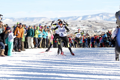 Brett Denney and Adam Loomis 2014 Olympic Team Trials for Nordic Combined at Utah Olympic Park, Park City Cross Country Photo: Sarah Brunson/U.S. Ski Team