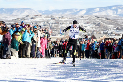 Nick Hendrickson 2014 Olympic Team Trials for Nordic Combined at Utah Olympic Park, Park City Cross Country Photo: Sarah Brunson/U.S. Ski Team