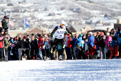 Billy Demong 2014 Olympic Team Trials for Nordic Combined at Utah Olympic Park, Park City Cross Country Photo: Sarah Brunson/U.S. Ski Team