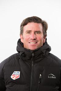 Dave Jarrett, head coach 2015-16 U.S. Nordic Combined Ski Team Photo © Lincoln Benedict/L.L. Bean