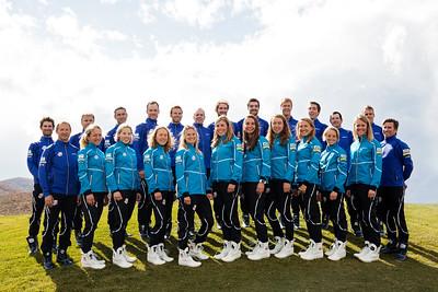 2015-16 U.S. Cross Country and Nordic Combined Ski Teams Photo: U.S. Ski Team
