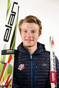 Ben Loomis 2015-16 U.S. Nordic Combined Ski Team Photo: U.S. Ski Team