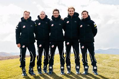 2015-16 U.S. Nordic Combined Ski Team Photo: U.S. Ski Team