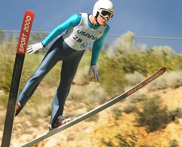 Adam Loomis - U.S. Ski Jumping Championships - Utah Olympic Park