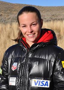 Lindsey Van 2011-12 U.S. Ski Jumping Ski Team Photo: Sarah Ely/U.S. Ski Team