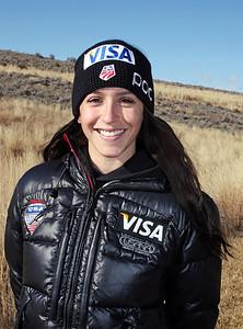 Jessica Jerome 2011-12 U.S. Ski Jumping Ski Team Photo: Sarah Ely/U.S. Ski Team
