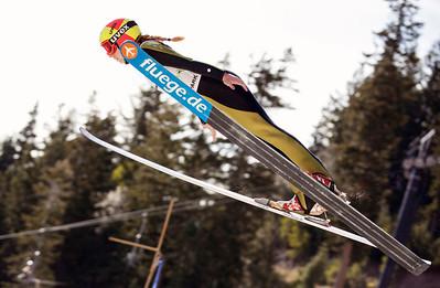 Emilee Anderson 2013 U.S. Ski Jumping Championships at the Utah Olympic Park in Park City, UT. Photo: Sarah Brunson/U.S. Ski Team