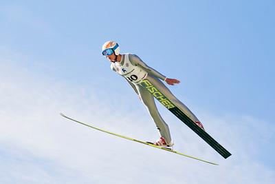Miles Lussi 2013 U.S. Ski Jumping Championships at the Utah Olympic Park in Park City, UT. Photo: Sarah Brunson/U.S. Ski Team