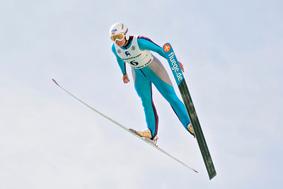 Abby Hughes 2013 U.S. Ski Jumping Championships at the Utah Olympic Park in Park City, UT. Photo: Sarah Brunson/U.S. Ski Team