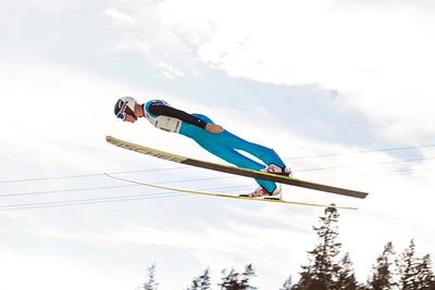 Makenzie Boyd-Clowes 2013 U.S. Ski Jumping Championships at the Utah Olympic Park in Park City, UT. Photo: Sarah Brunson/U.S. Ski Team