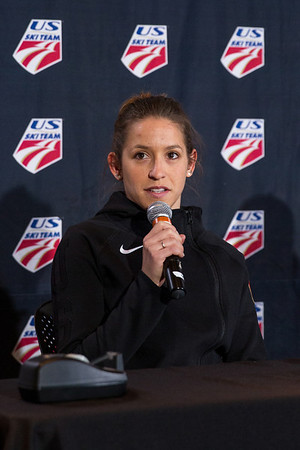 2014 U.S. Women's Ski Jumping Olympic Team announcement press conference