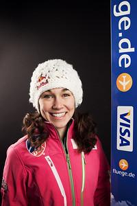 Sarah Hendrickson 2013-14 U.S. Women's Ski Jumping Team Photo: Sarah Brunson/U.S. Ski Team