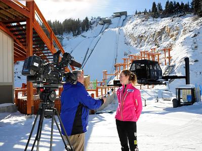 2014 U.S. Olympic Trials Ski Jumping