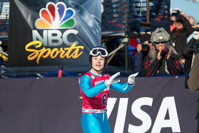 Lindsey Van 2014 Olympic Trials for Ski Jumping at Utah Olympic Park Ski Jumping Photo: Sarah Brunson/U.S. Ski Team
