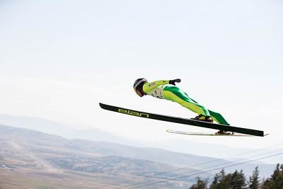 Rogan Reid 2016 L.L. Bean U.S. Ski Jumping Championships at the Utah Olympic Park, Park City, UT HS-134 Photo: U.S. Ski Team