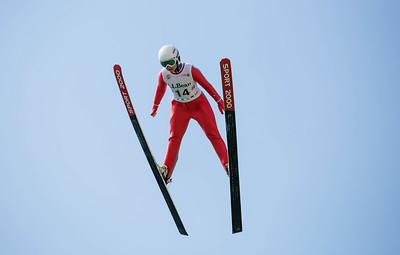 Cara Larson 2016 L.L. Bean U.S. Ski Jumping Championships at the Utah Olympic Park, Park City, UT HS-134 Photo: U.S. Ski Team