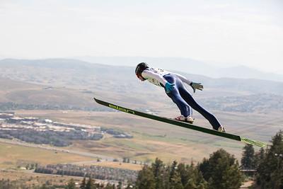 Jared Shumate 2016 L.L. Bean U.S. Ski Jumping Championships at the Utah Olympic Park, Park City, UT HS-134 Photo: U.S. Ski Team