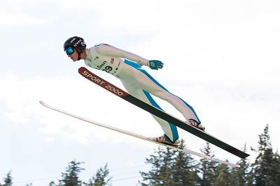 Brian Wallace 2016 L.L. Bean U.S. Ski Jumping Championships at the Utah Olympic Park, Park City, UT HS-134 Photo: U.S. Ski Team