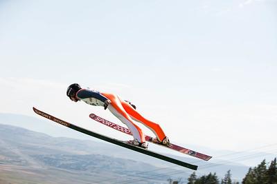 Steph Schumann 2016 L.L. Bean U.S. Ski Jumping Championships at the Utah Olympic Park, Park City, UT HS-134 Photo: U.S. Ski Team