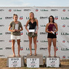 (l-r) Jessica Jerome, Taylor Henrich and Natalie Eilers<br /> 2016 L.L. Bean U.S. Nordic Combined Championships at Soldier Hollow, Midway, UT<br /> Rollerski 10K<br /> Photo: U.S. Ski Team
