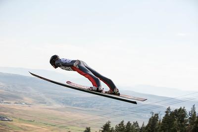 Trevor Edlund 2016 L.L. Bean U.S. Ski Jumping Championships at the Utah Olympic Park, Park City, UT HS-134 Photo: U.S. Ski Team
