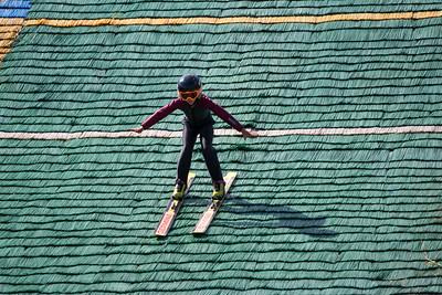 2016 Springer Tournee at the Utah Olympic Park, Park City, UT. HS-100 Photo: U.S. Ski Team