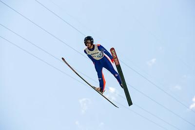 Kevin Bickner 2016 Springer Tournee at the Utah Olympic Park, Park City, UT. HS-100 Photo: U.S. Ski Team