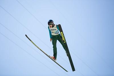 Luke Tschida 2016 Springer Tournee at the Utah Olympic Park, Park City, UT. HS-100 Photo: U.S. Ski Team