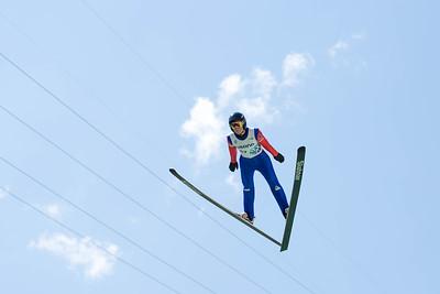 Somer Schrock 2016 Springer Tournee at the Utah Olympic Park, Park City, UT. HS-100 Photo: U.S. Ski Team