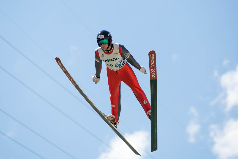 Jake Lock<br /> 2016 Springer Tournee at the Utah Olympic Park, Park City, UT.<br /> HS-100<br /> Photo: U.S. Ski Team