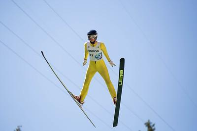 Aiden Cudhea 2016 Springer Tournee at the Utah Olympic Park, Park City, UT. HS-100 Photo: U.S. Ski Team