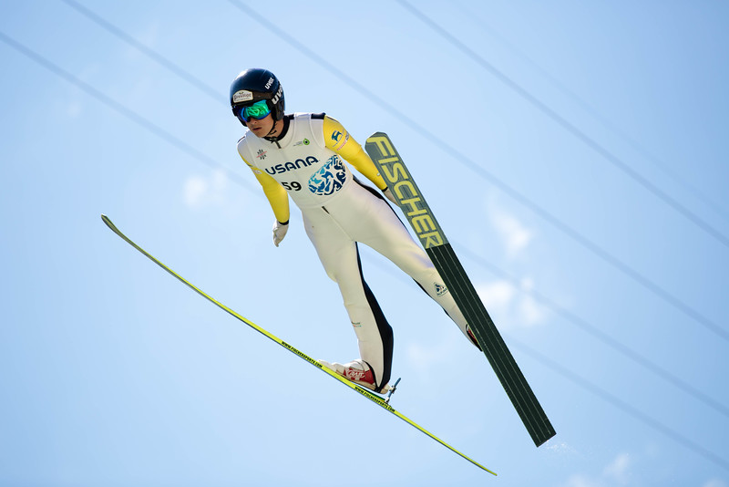 Nick Mattoon<br /> 2016 Springer Tournee at the Utah Olympic Park, Park City, UT.<br /> HS-100<br /> Photo: U.S. Ski Team