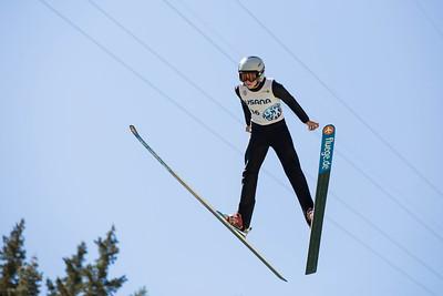 Landon Lee 2016 Springer Tournee at the Utah Olympic Park, Park City, UT. HS-100 Photo: U.S. Ski Team