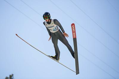 Koby Vargas 2016 Springer Tournee at the Utah Olympic Park, Park City, UT. HS-100 Photo: U.S. Ski Team