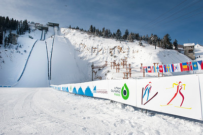 Utah Olympic Park World Champs Preparations