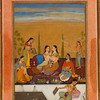Ladies on a Terrace; Rasikapriya series