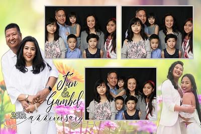 Jun&Gambel 25th Wedding Anniversary