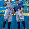 VON CASTOR/.Phoenix Special Photo<br /> Oktaha's Matt Erwin, left, is the Most Valuable Player on the 2018 All-Phoenix baseball team. His coach, Kevin Rodden, is the Coach of the Year.