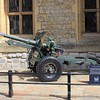 1943 British 25-pounder field gun