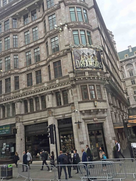 Savoy Theatre, Savoy Court, Strand, West End London, Westminster