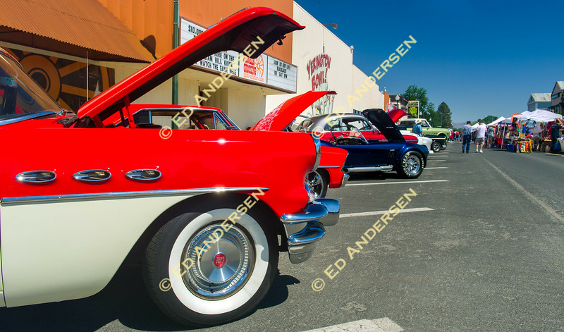 More than 225 vehicles participated in the annual Yerington Car Show.