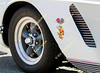 "A ""Mighty Mouse"" decal adorns a 400 cubic inch 1962 Chevrolet Corvette owned by Marty and Mary Meckler."