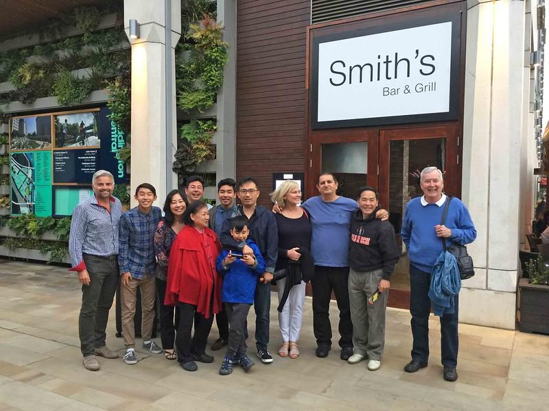 Stephane, Andrew, Donna, Davee, Ying-Hui, Ryan, Paul, Lucas, Lori, Elias, Stan and Harvey.