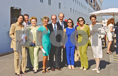 La Manga Club visit with Lord and Lady Sterling to Oriana  in Cartagena