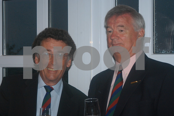 Robert Powell at the Lady Taveners La Manga Club Event, 14th June 2004