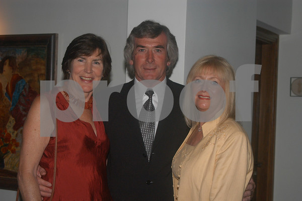 Pat Jennings with friends at the Lady Taveners La Manga Club Event, 14th June 2004