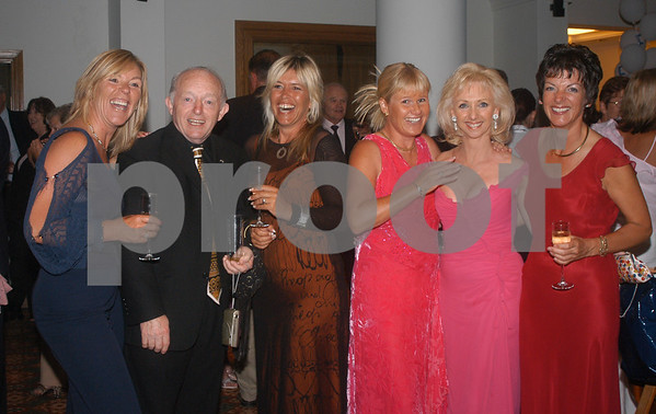 Paul and Debbie Daniels with friends at the Lady Taveners La Manga Club Event, 14th June 2004
